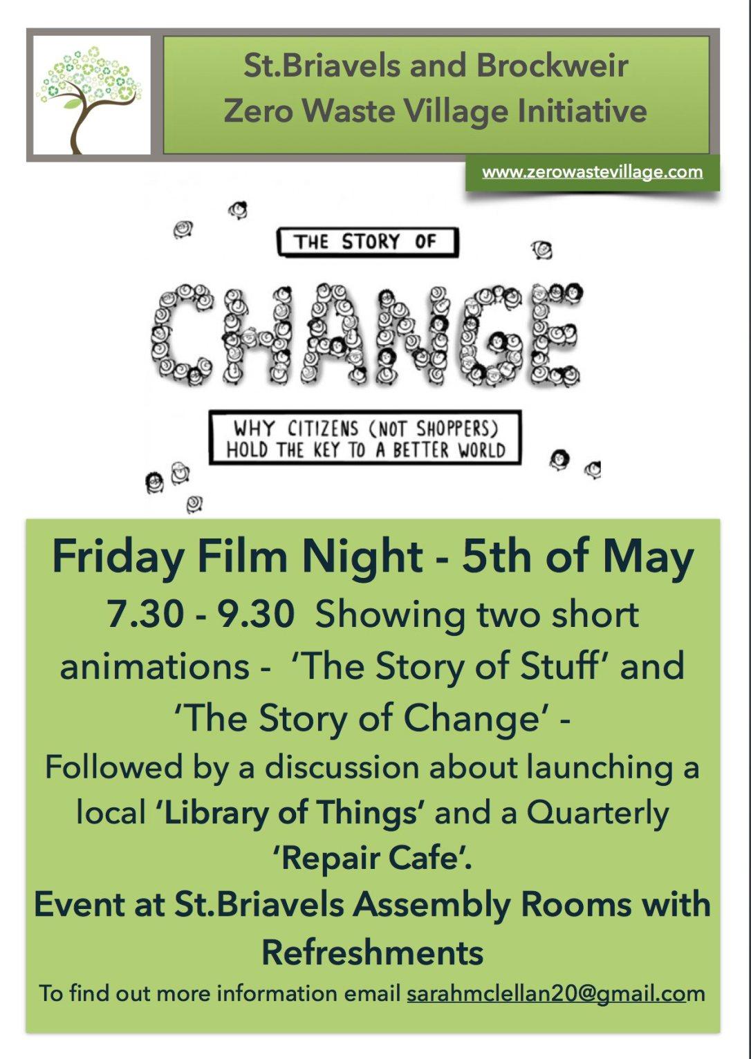 Film Night 5th May 17